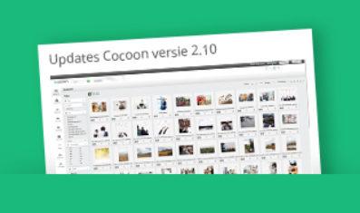 Cocoon Media Management Software update, versie 2.10 is beschikbaar.