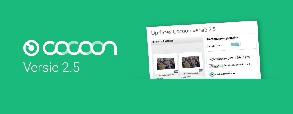 Update: Cocoon versie 2.5 beschikbaar
