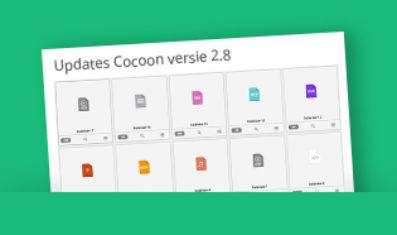 Cocoon, update versie 2.8 is beschikbaar
