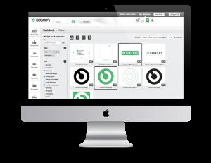 Brandportal Cocoon, software voor marketing professionals